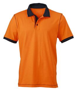 Miesten Urban-pikeepaita Oranssi-Navy