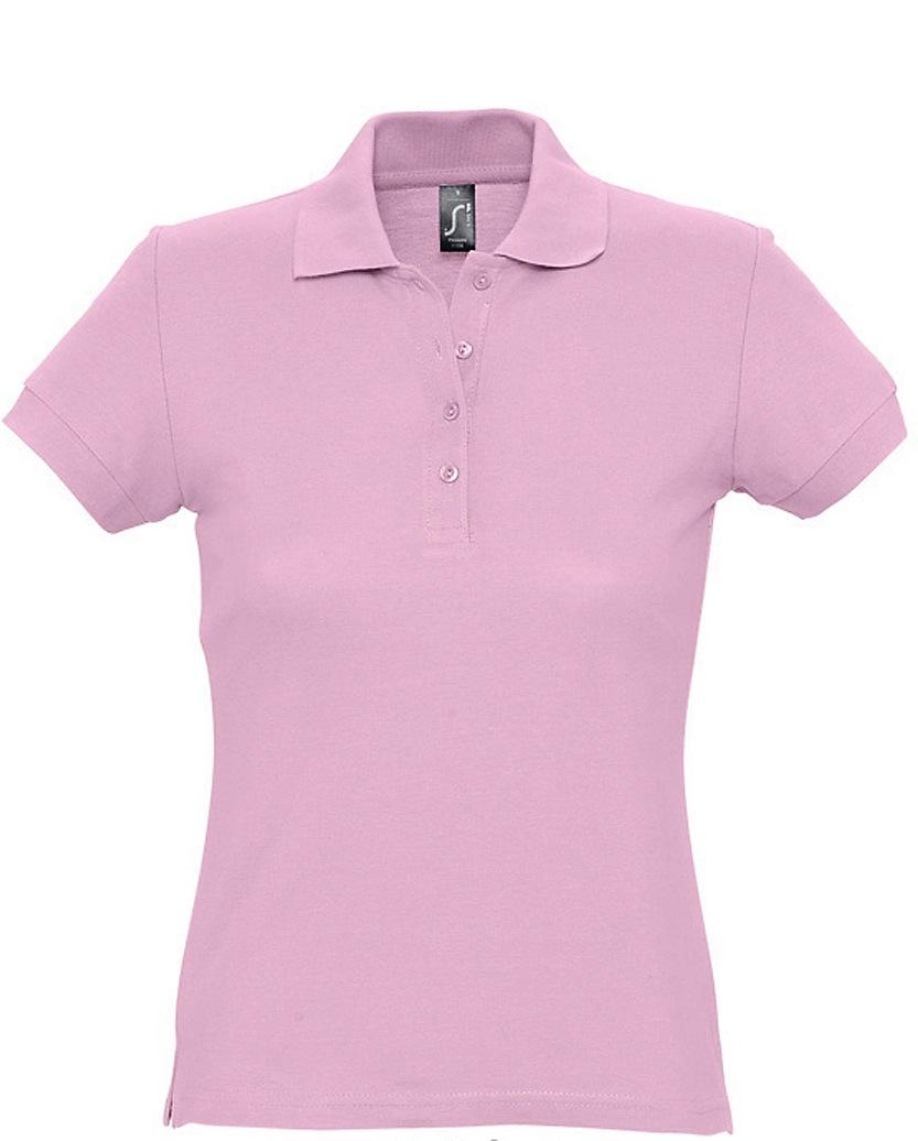 Naisten Pikeepaita Passion Pink
