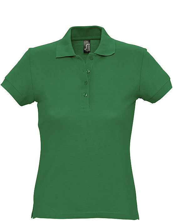 Naisten Pikeepaita Passion Green