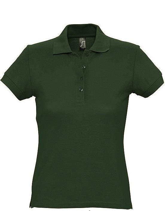 Naisten Pikeepaita Passion Army green