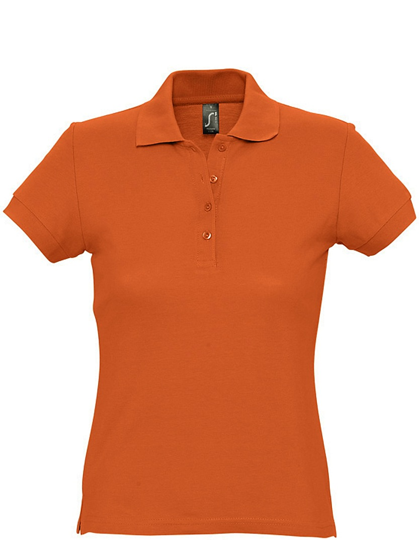 Naisten Pikeepaita Passion Orange