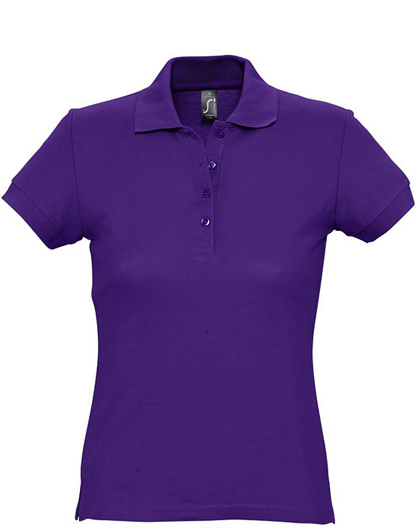 Naisten Pikeepaita Purple