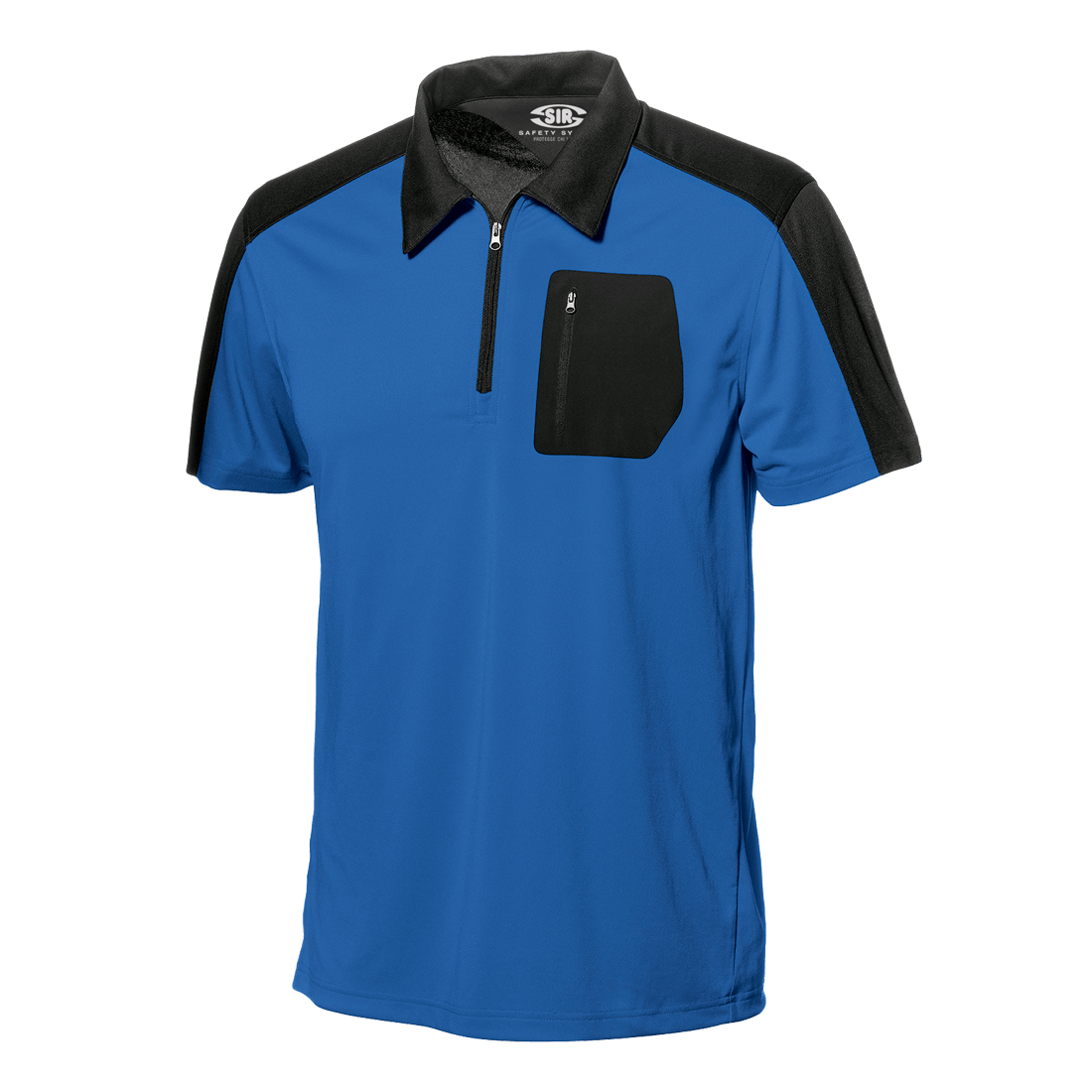 Dry-fit pikeepaita blue-black