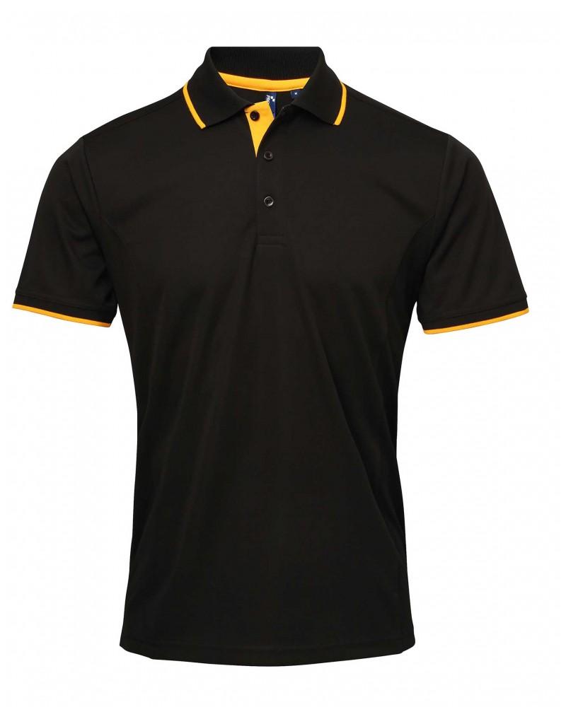 Coolchecker-pikee, musta-keltainen