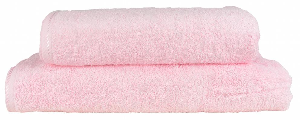 Kylpypyyhe Vaaleanpunainen