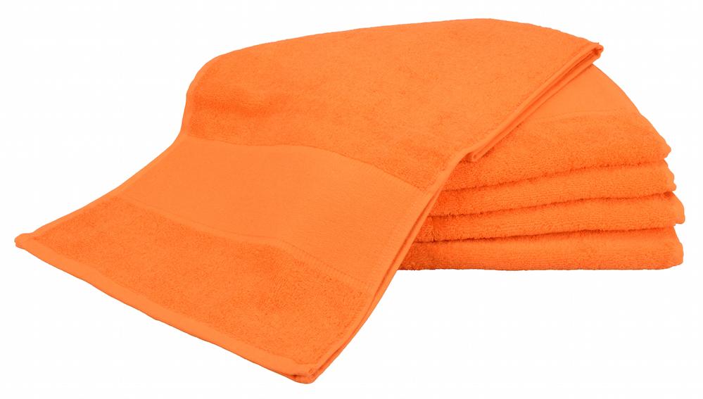 Painettava Sport-pyyhe Oranssi