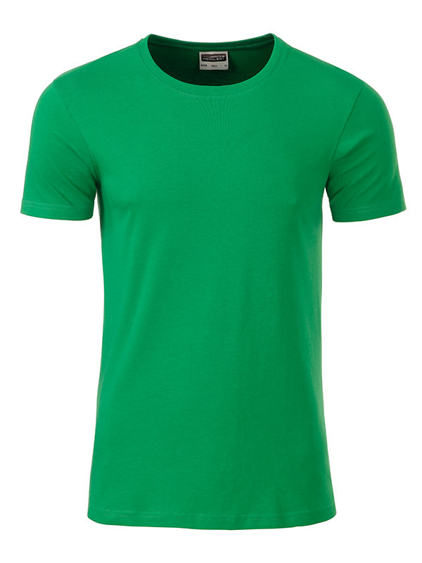 Orgaaninen Basic-T Fern Green