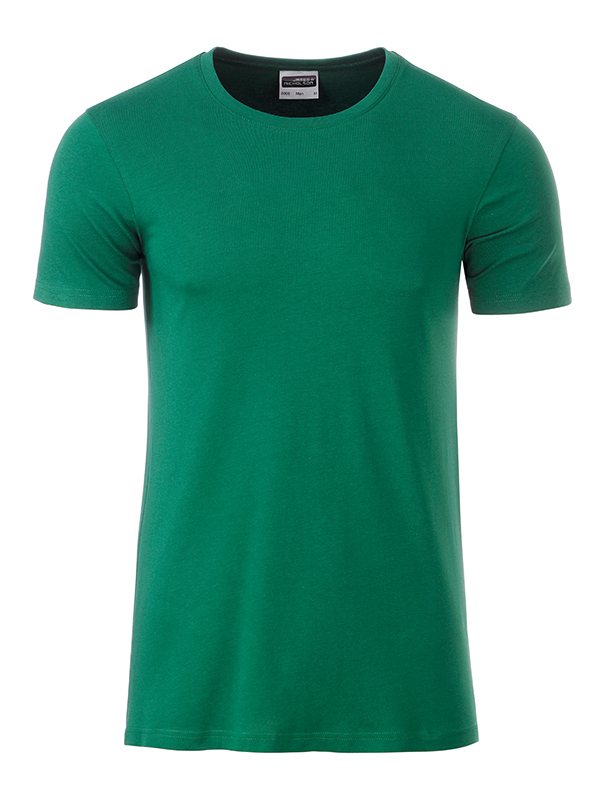 Orgaaninen Basic-T Irish Green