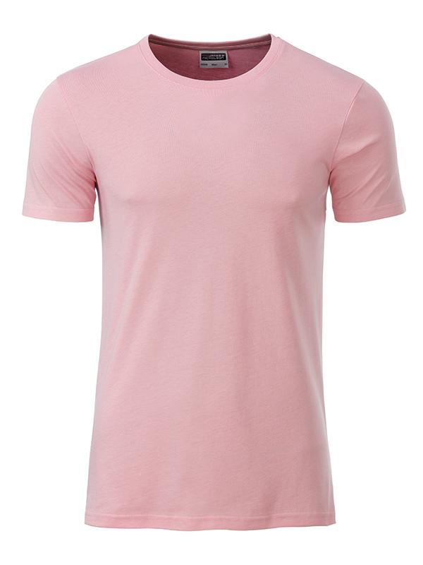 Orgaaninen Basic-T Soft Pink