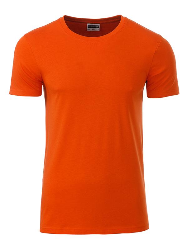 Orgaaninen Basic-T Tumma Oranssi