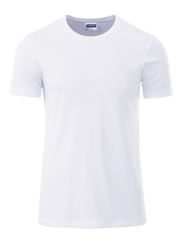 Orgaaninen Basic-T Valkoinen