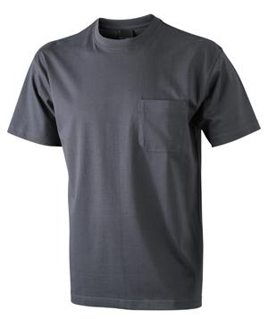 Taskullinen T-paita JN920, Grafiitinharmaa