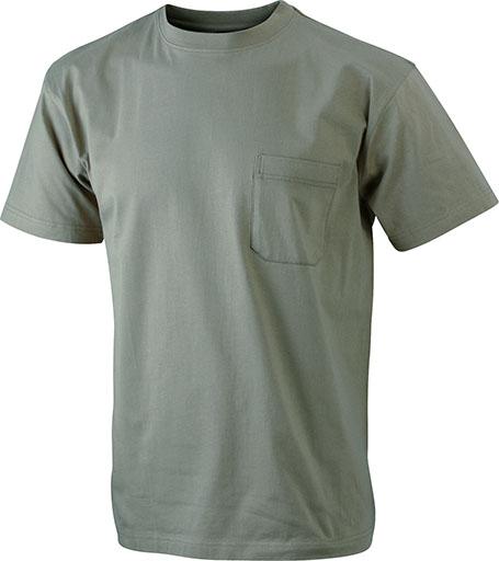 Taskullinen T-paita JN920, Khaki