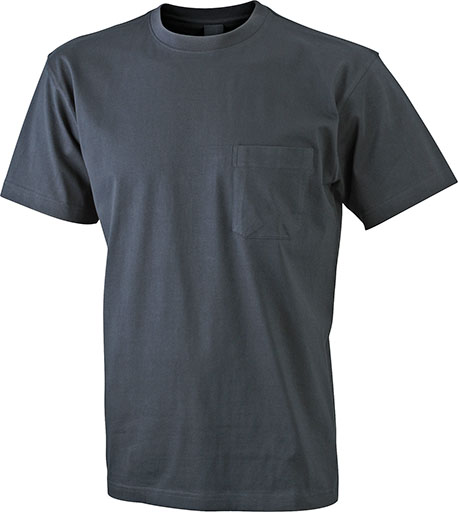 Taskullinen T-paita JN920, Musta