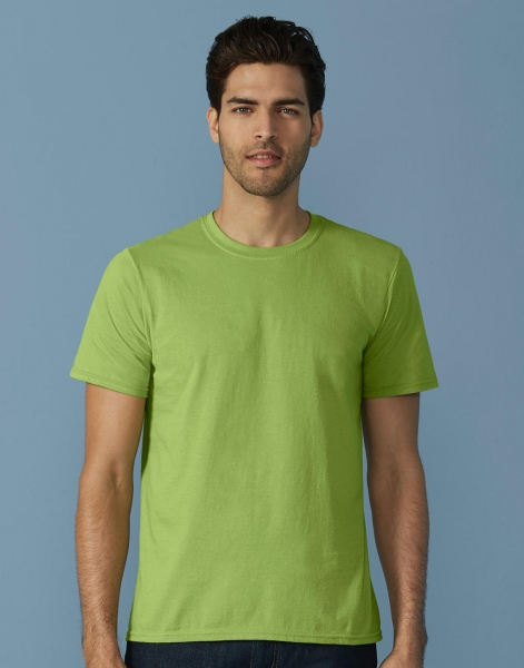 Miesten edullinen Softstyle T-paita