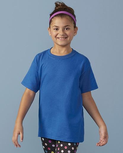 Nuorten Heavy Cotton T-paita Gildan 5000B