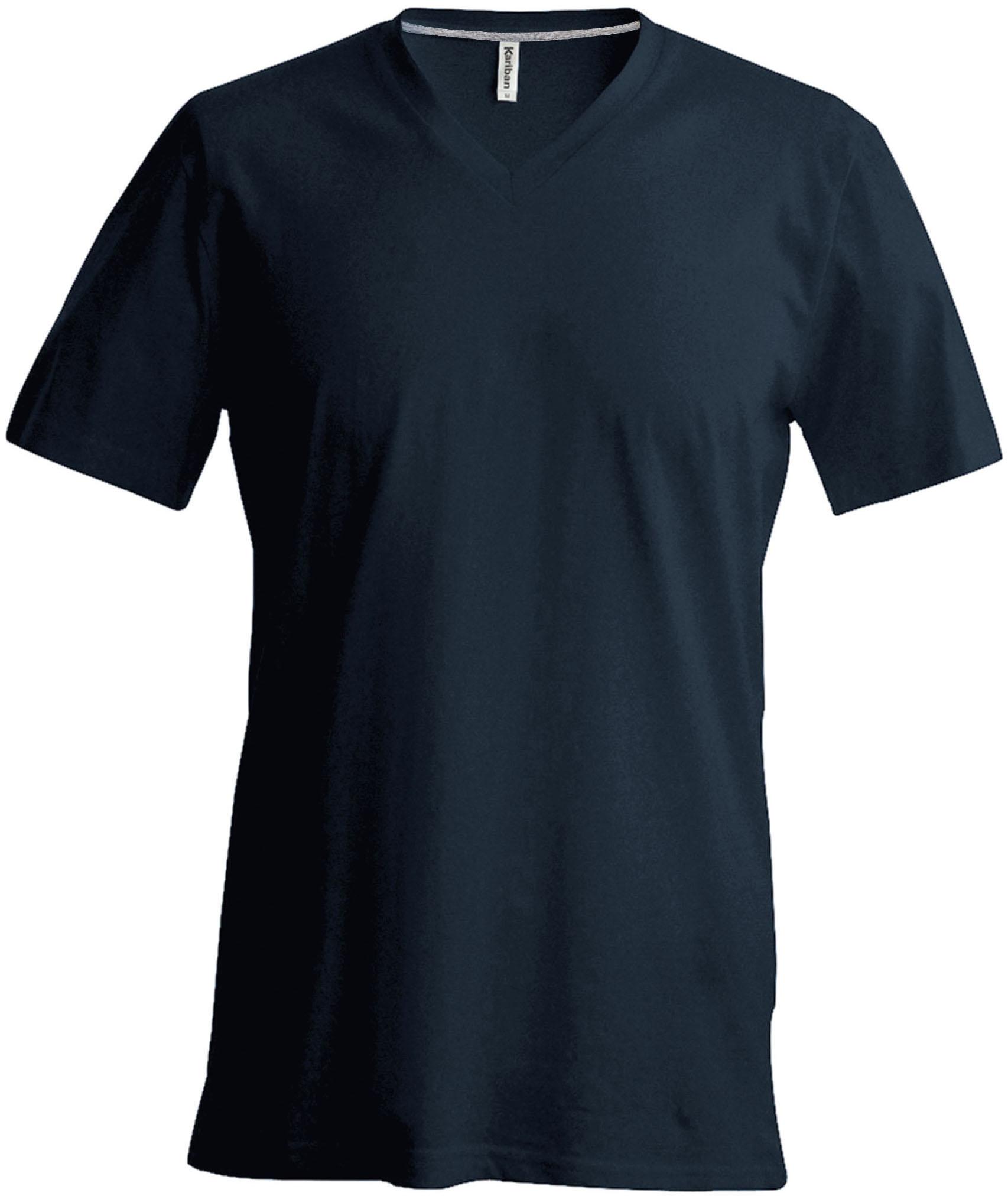 T-paita K356 V-aukko Tummanharmaa