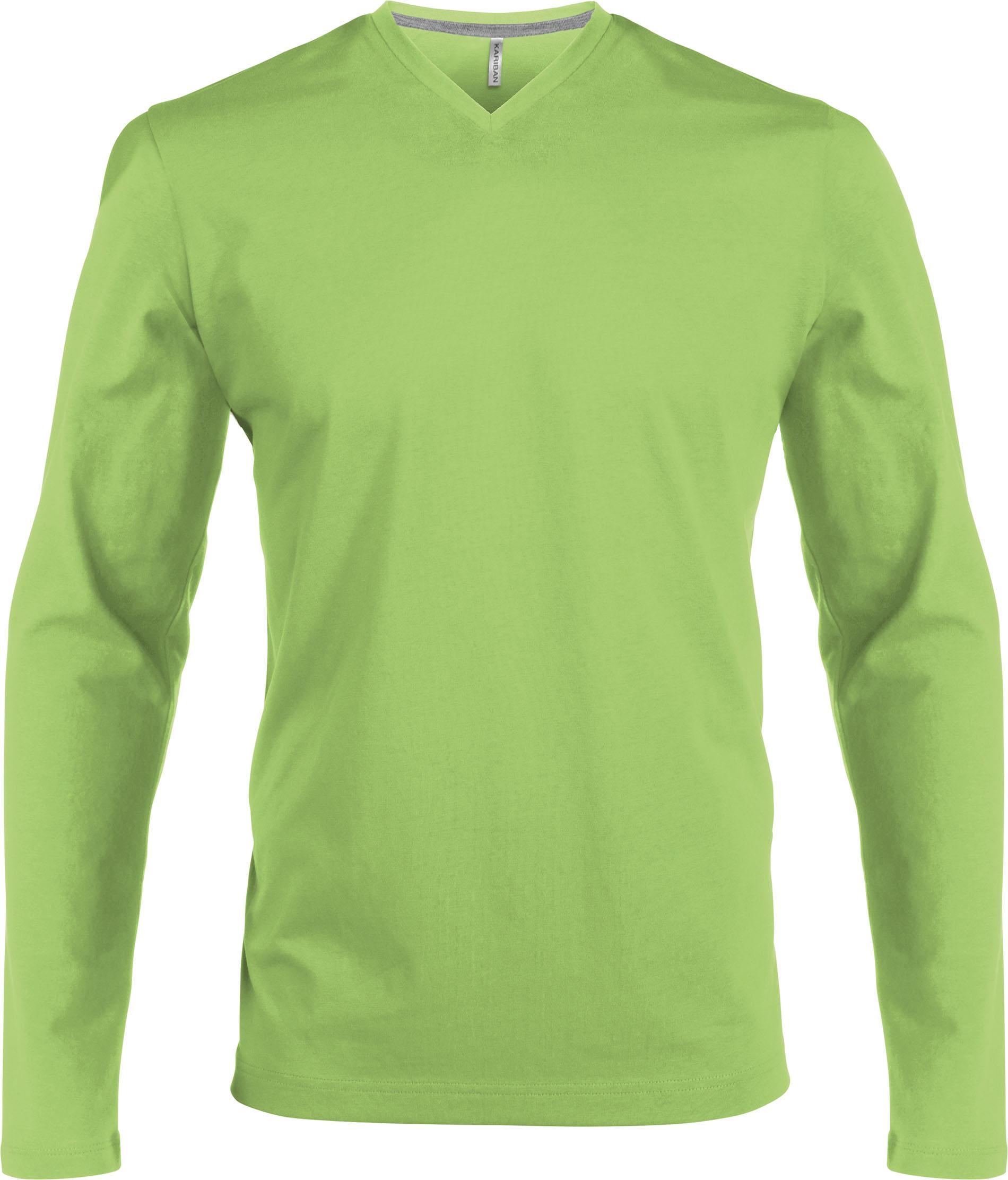 T-paita K358 V-aukko PH Lime