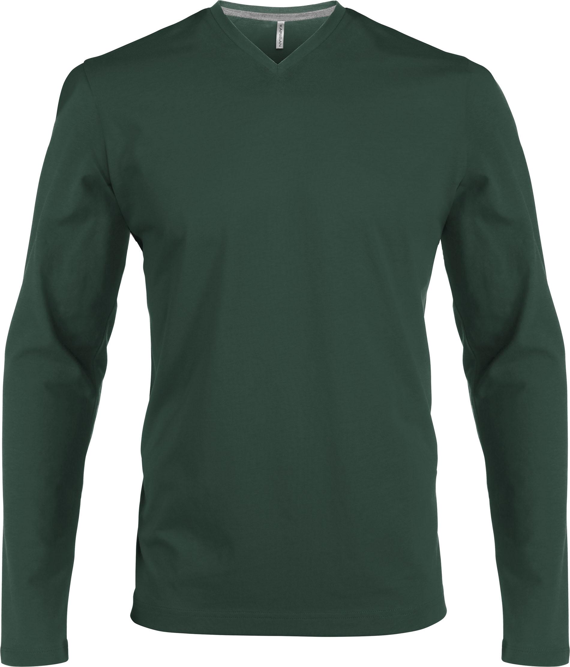 T-paita K358 V-aukko PH Metsänvihreä