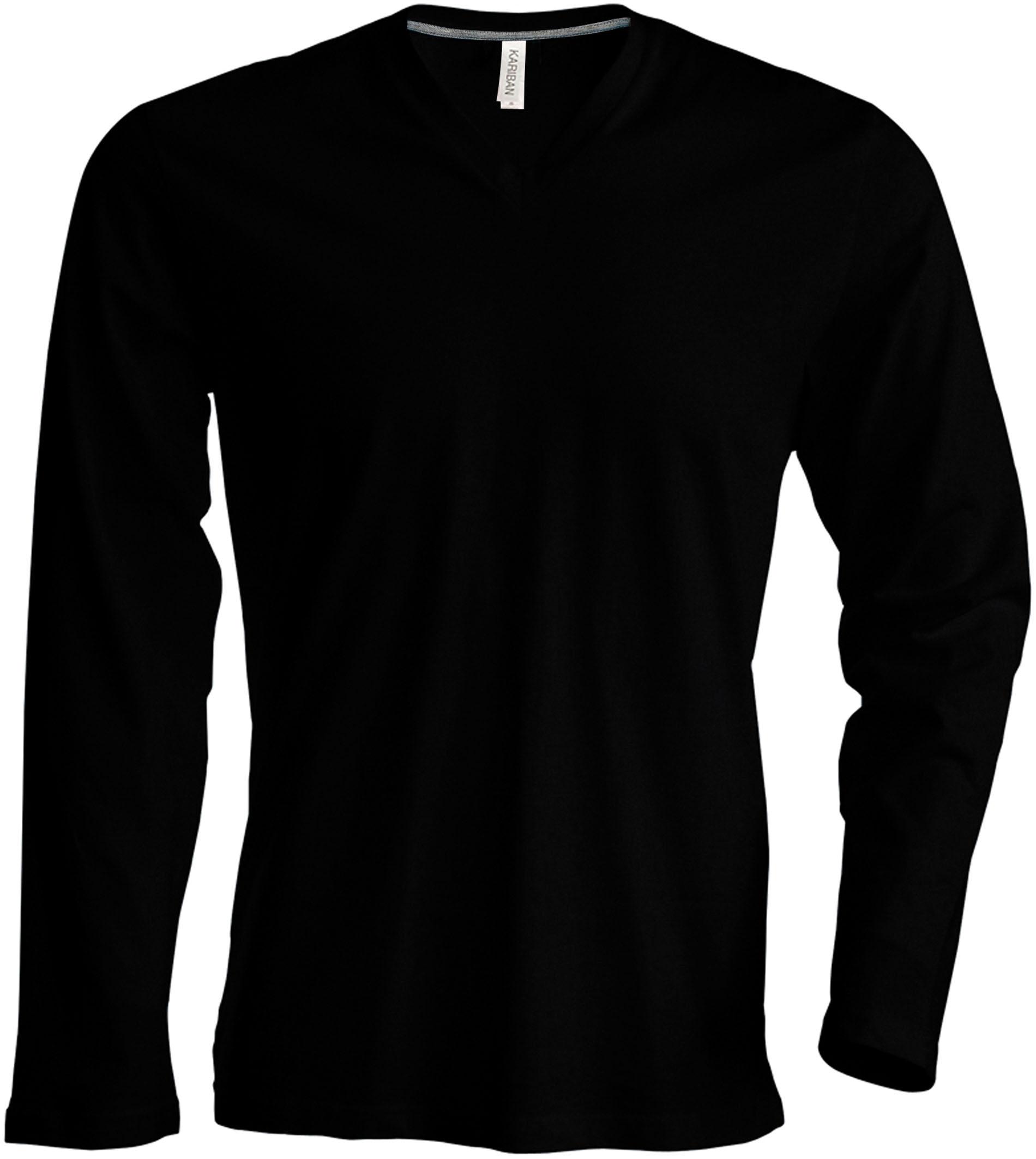 T-paita K358 V-aukko PH Musta
