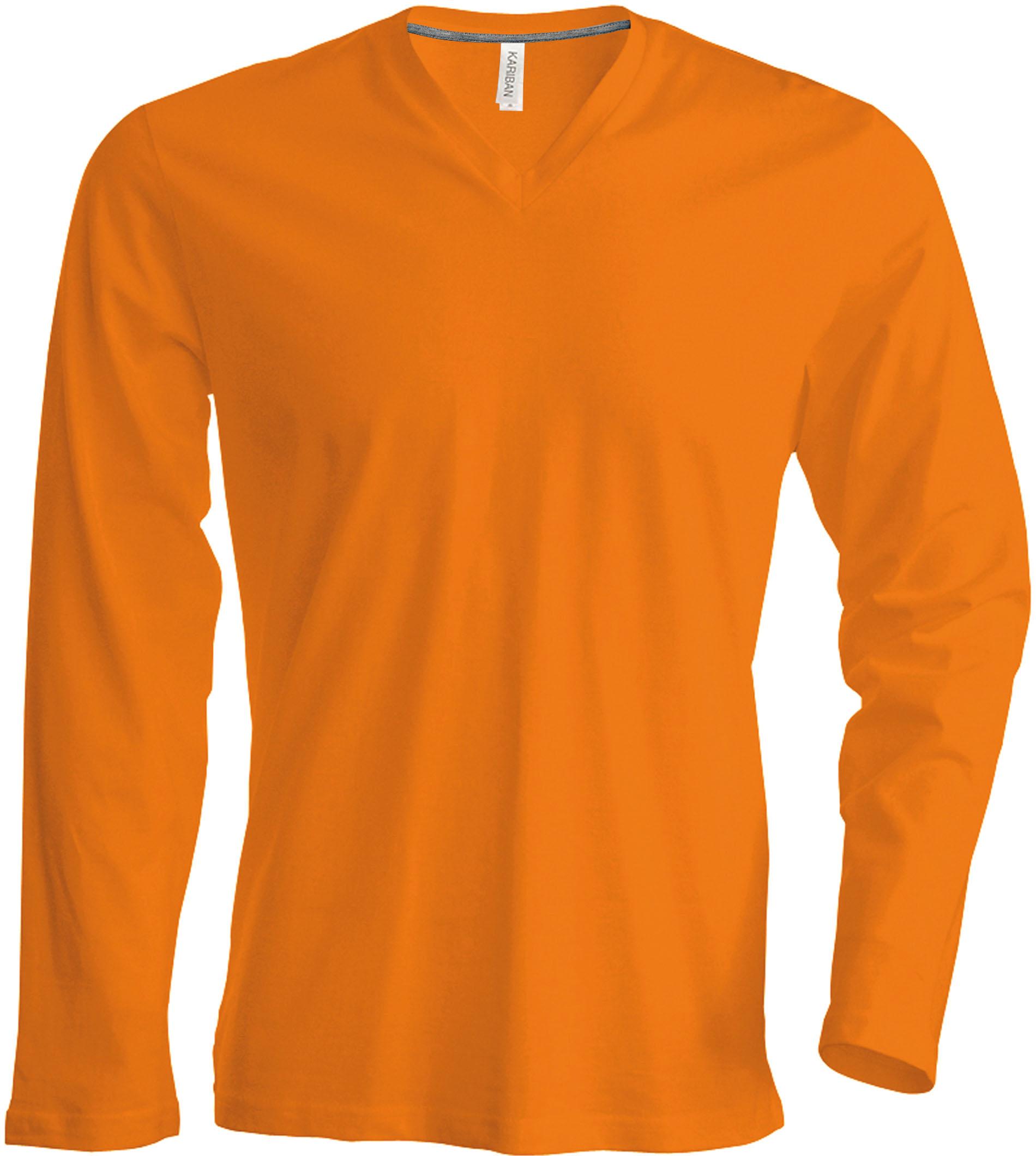 T-paita K358 V-aukko PH Oranssi