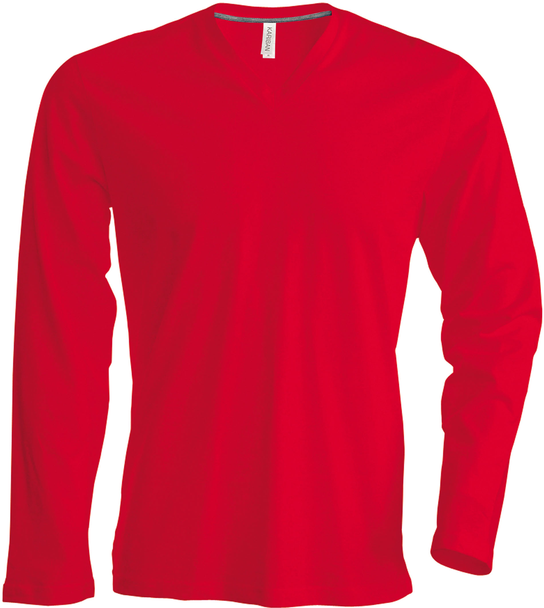 T-paita K358 V-aukko PH Punainen