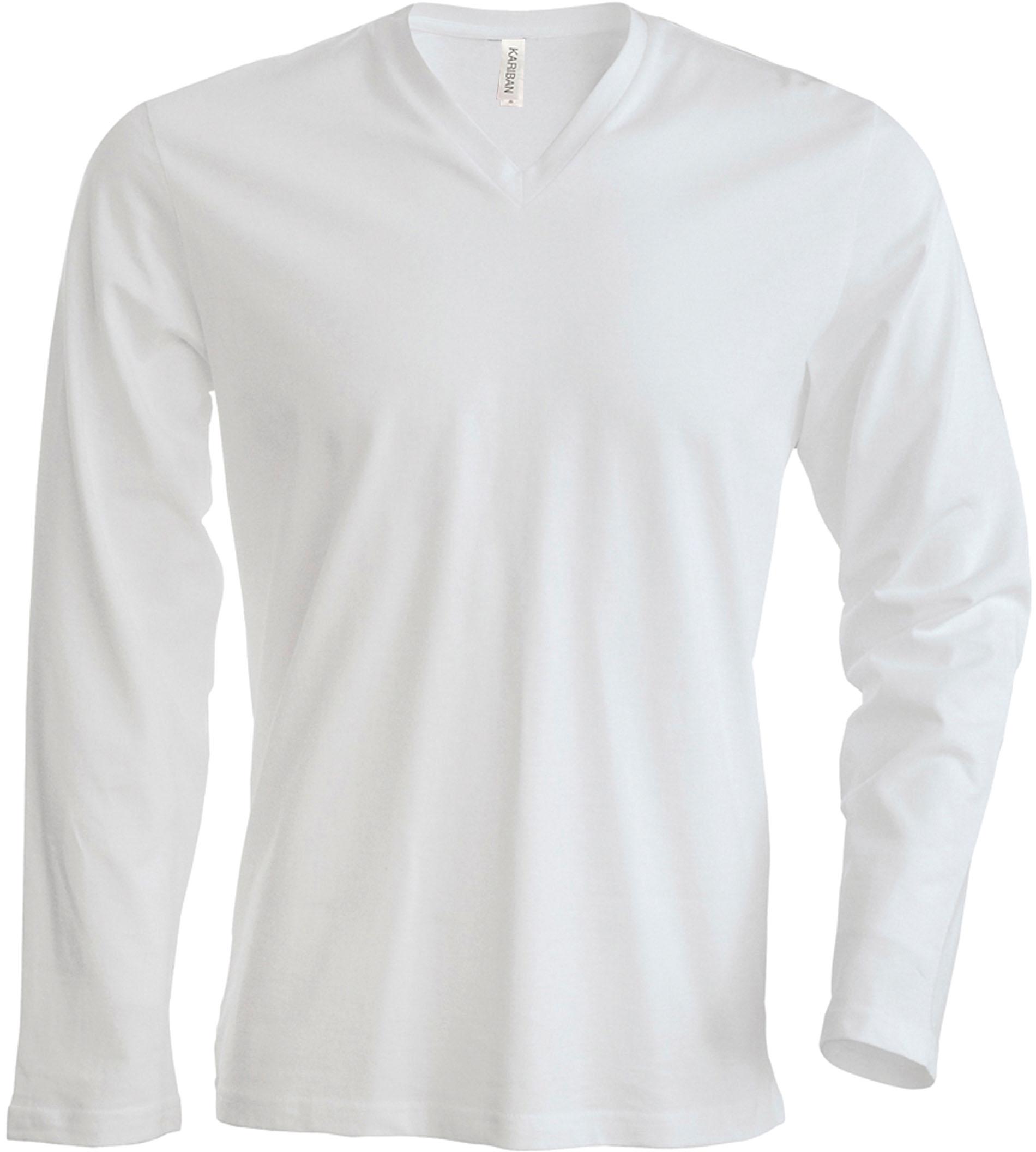 T-paita K358 V-aukko PH Valkoinen