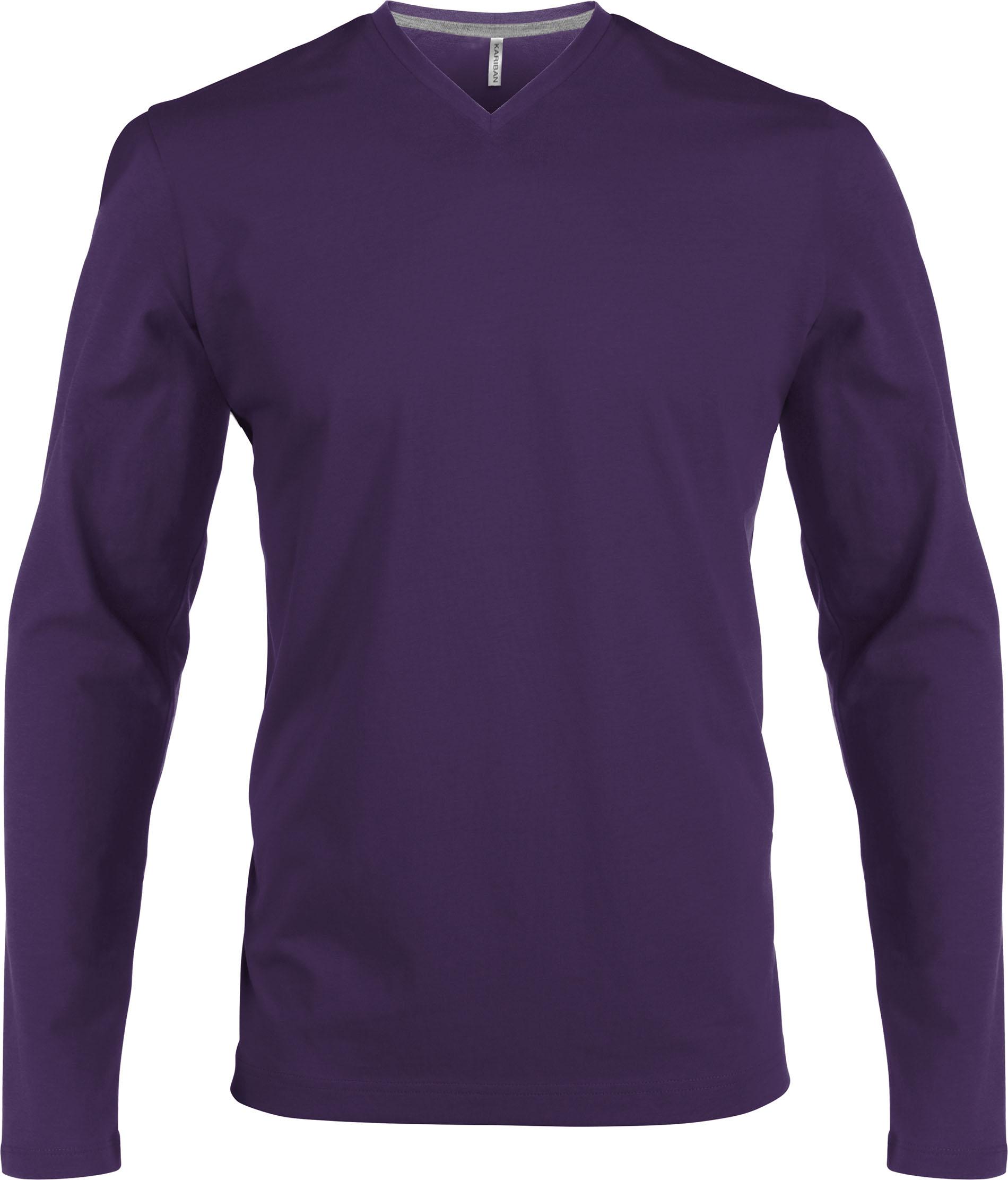 T-paita K358 V-aukko PH Violetti