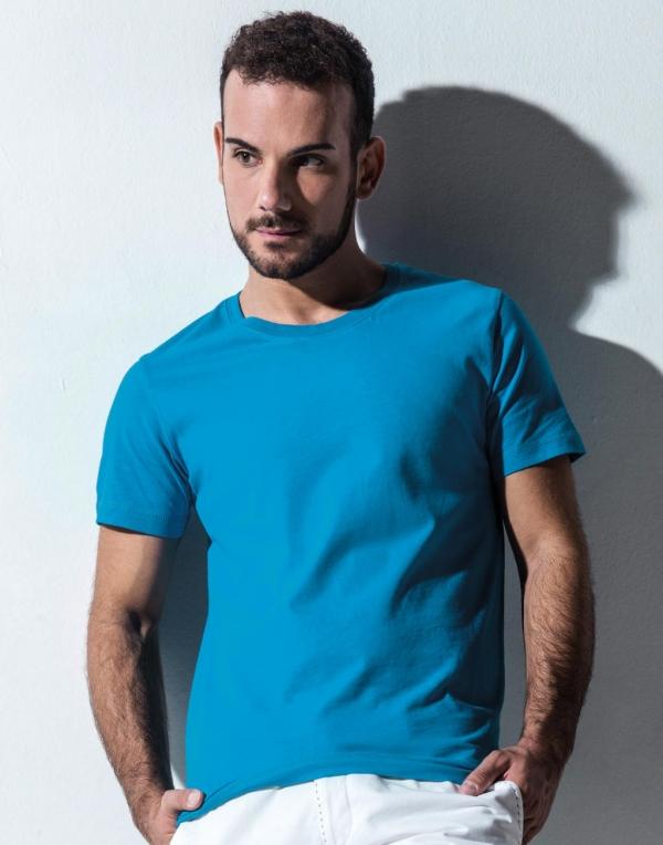 Miesten Fitted Orgaaninen t-paita Wayne