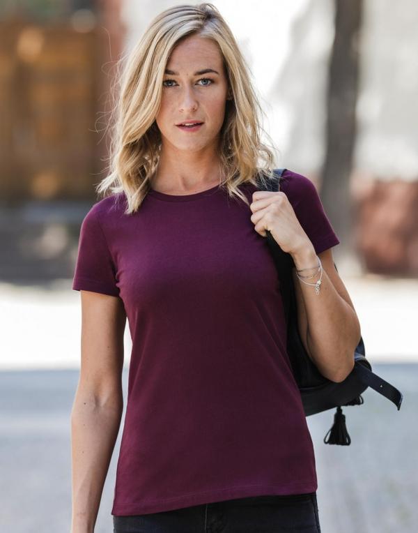 Naisten Authentic Pure Organic Cotton T-paita