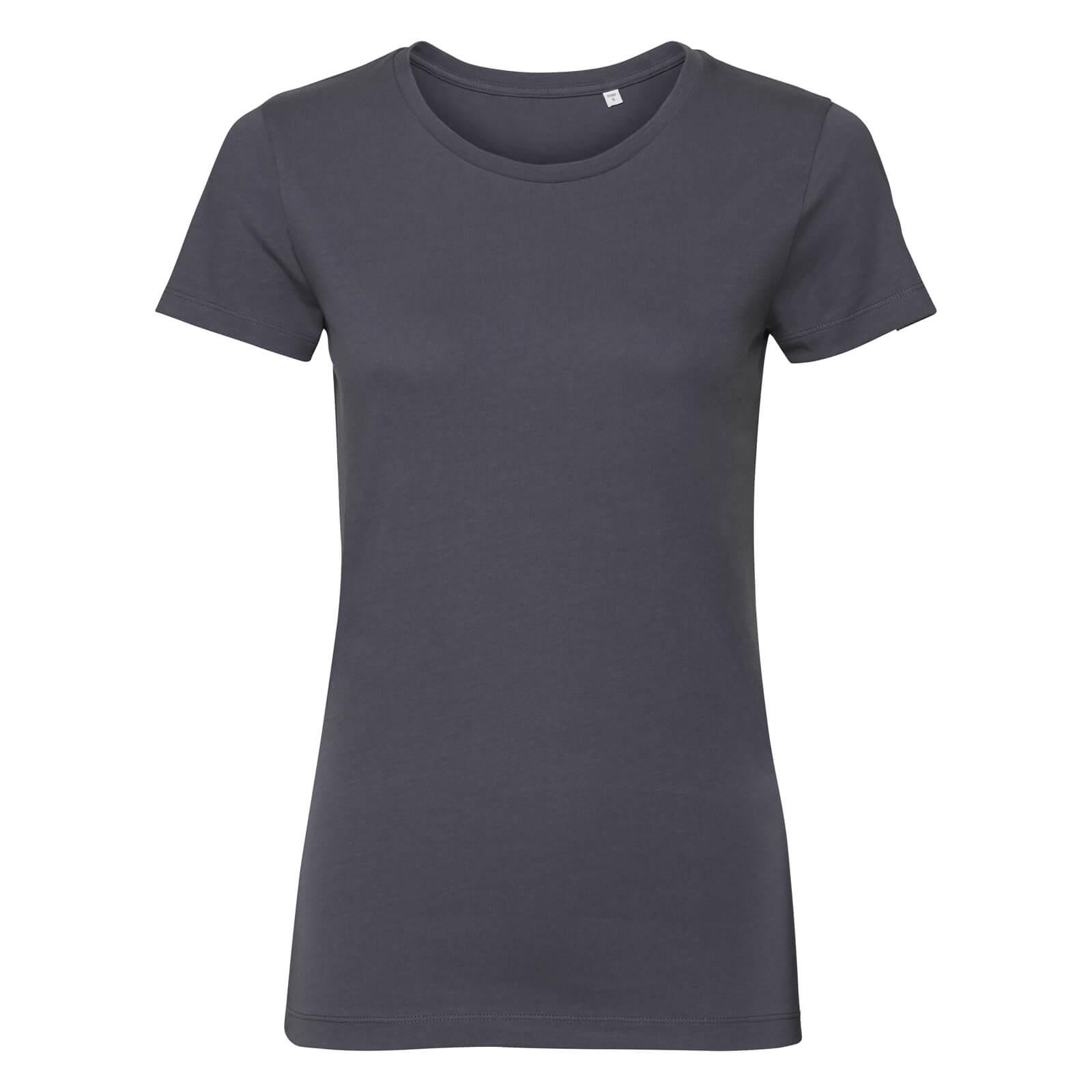 Naisten Pure Organic T-paita, Convoy Grey