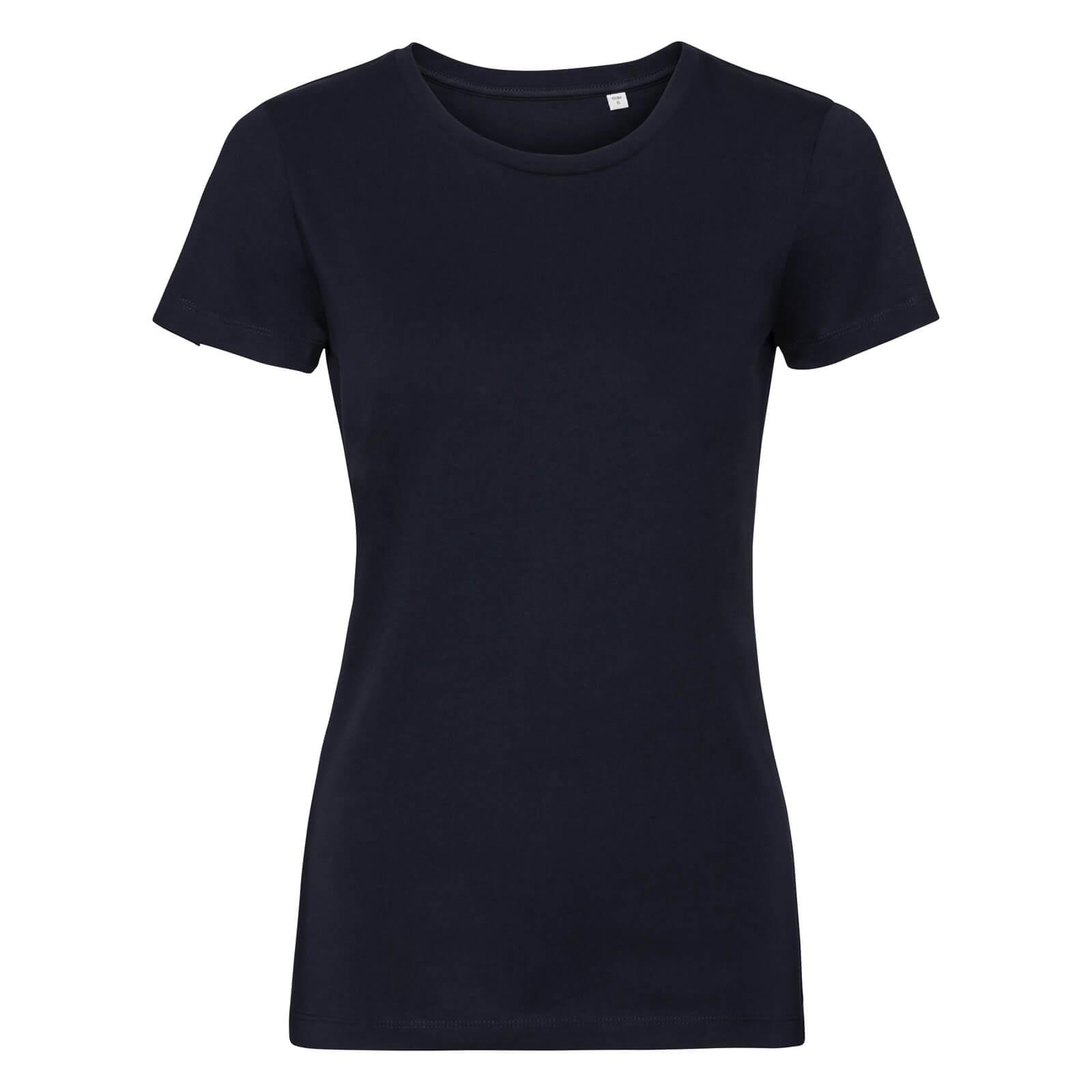 Naisten Pure Organic T-paita, Navy