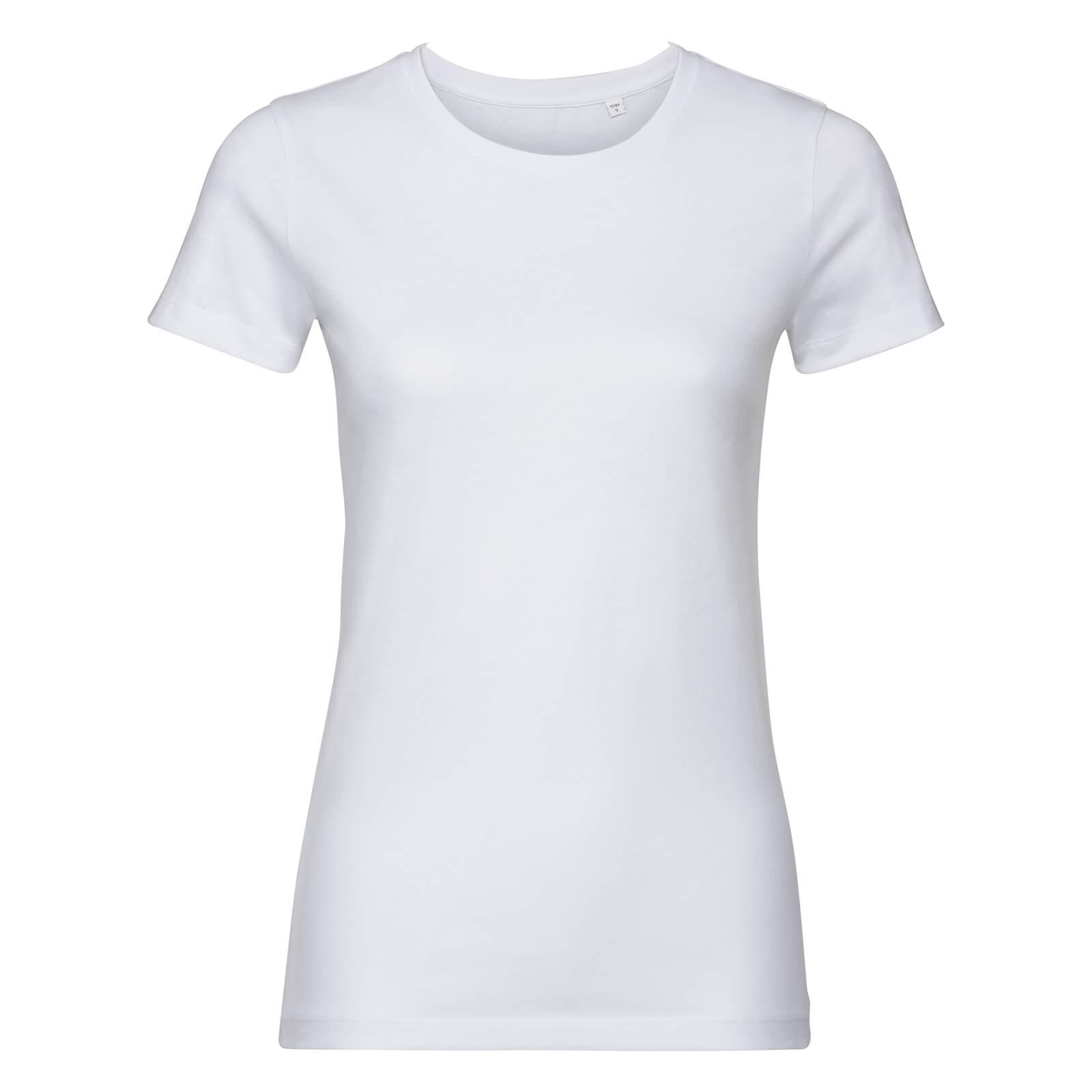 Naisten Pure Organic T-paita, valkoinen