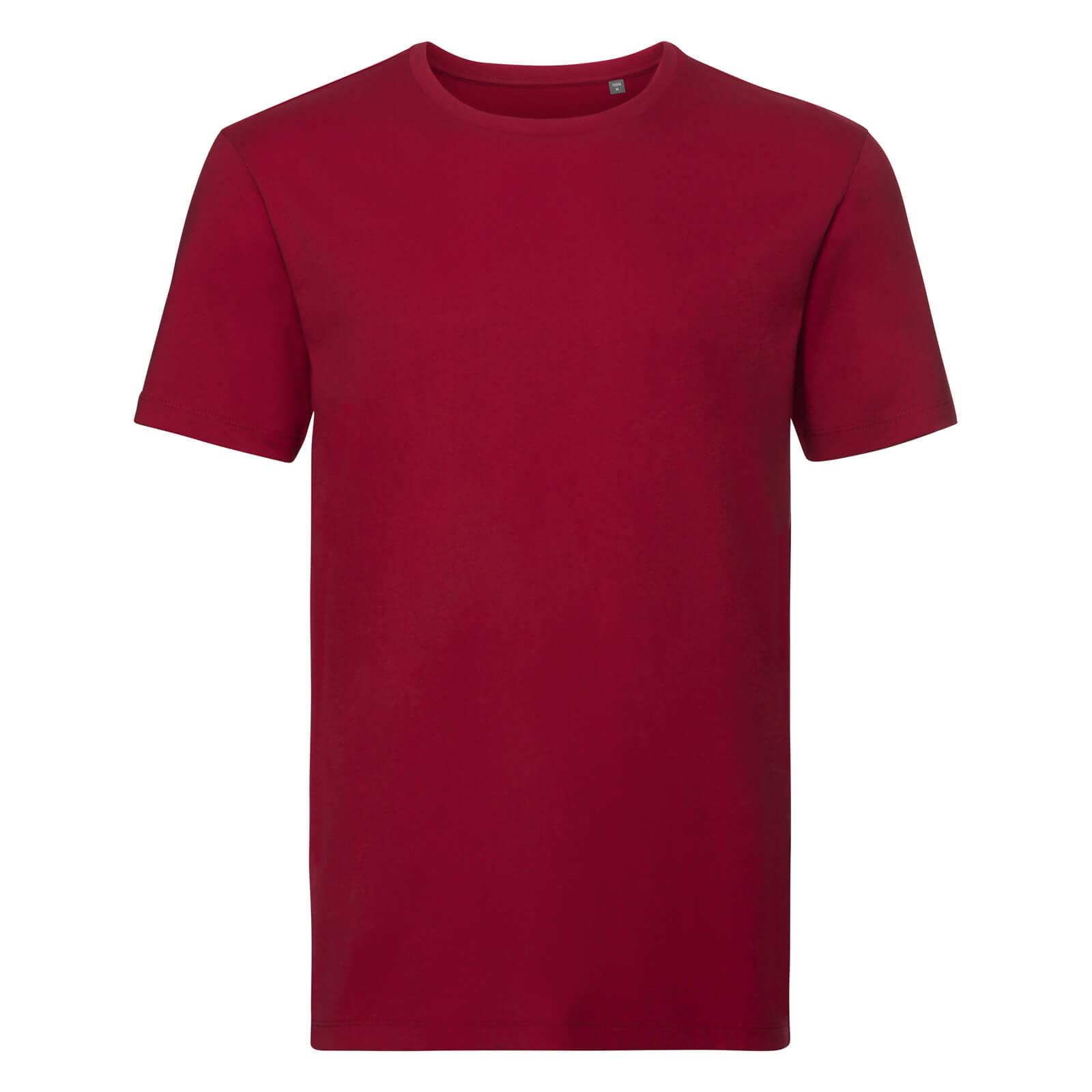 Pure Organic T-paita, Classic Red