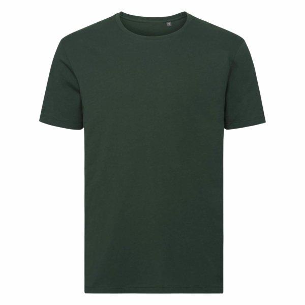 Pure Organic T-paita, Bottle Green