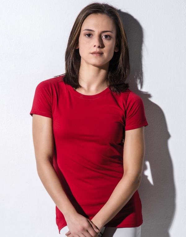 Naisten Fitted Orgaaninen t-paita Ruth