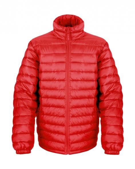 Miesten Ice Bird -kevyttoppatakki, punainen