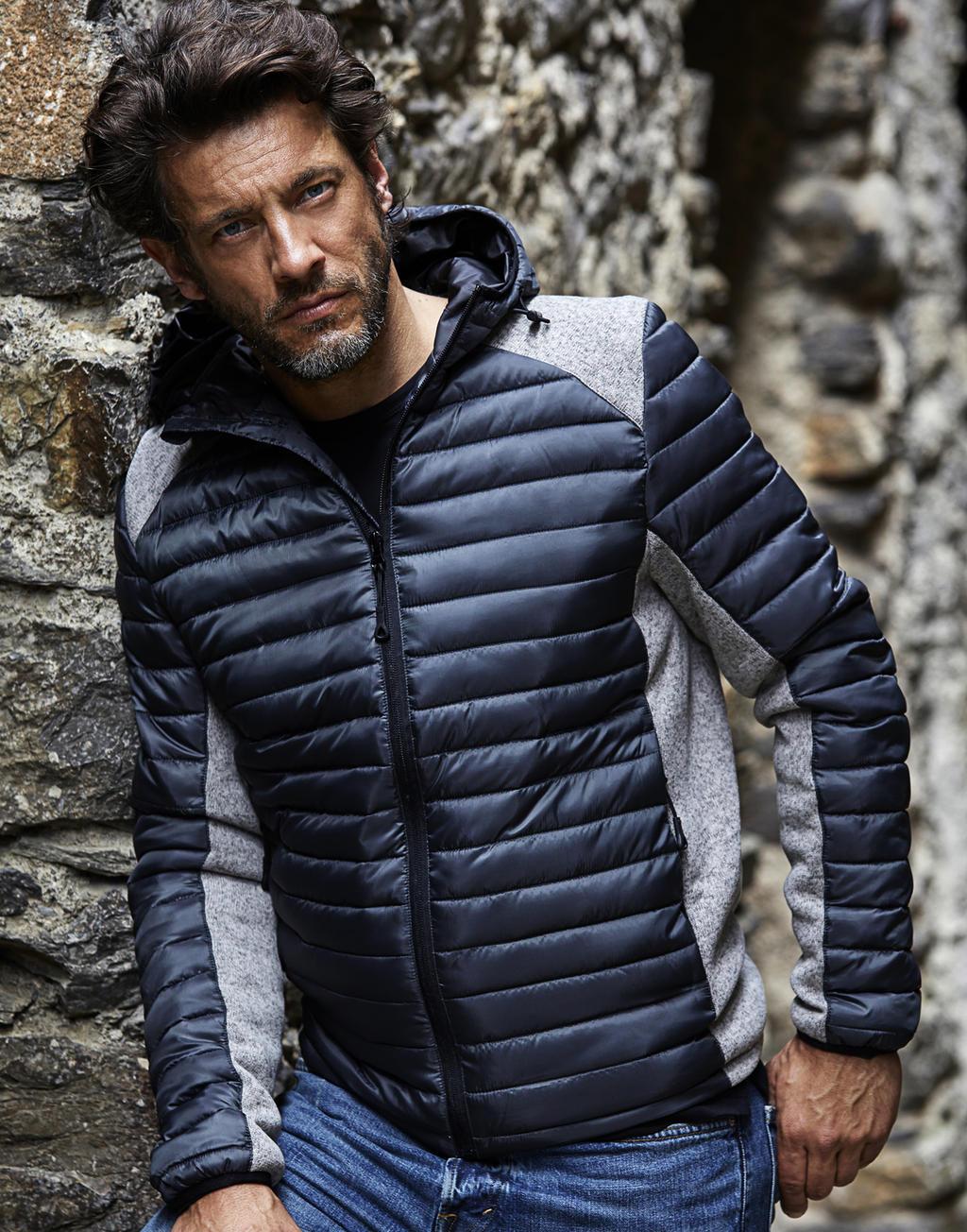 Miesten hupullinen Crossover-takki Aspen