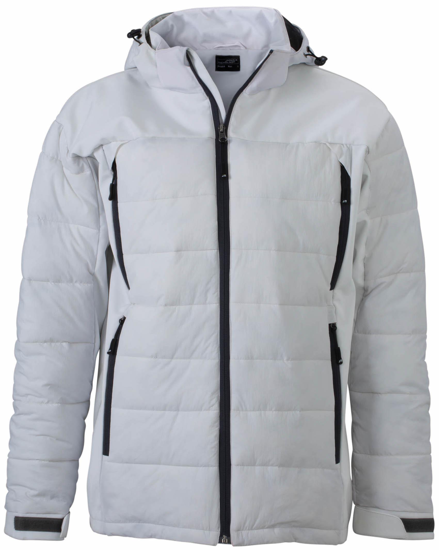 Miesten Outdoor Hybrid -takki JN1050 - Valkoinen