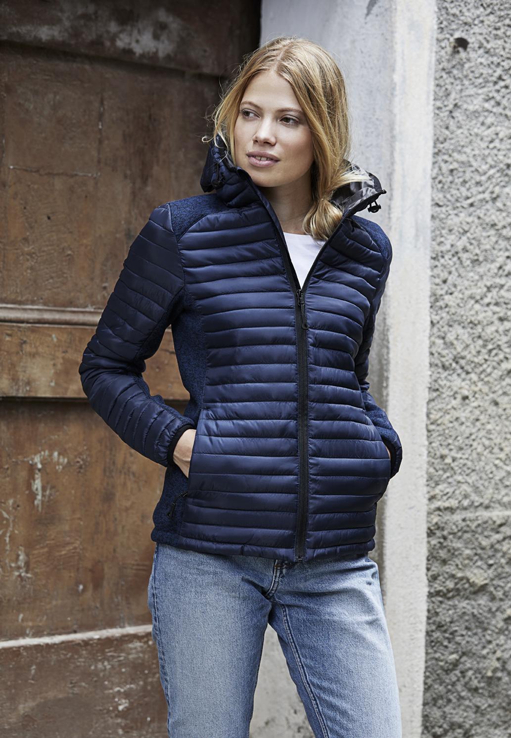 Naisten hupullinen Crossover-takki Aspen