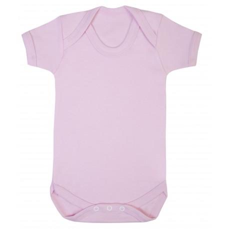 Vauvan body Tagless Vaaleanpunainen
