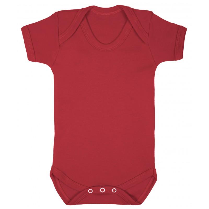 Vauvan body Tagless Punainen
