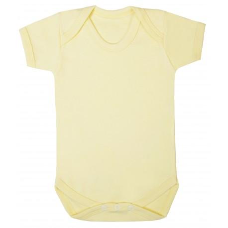 Vauvan body Tagless Sitruuna