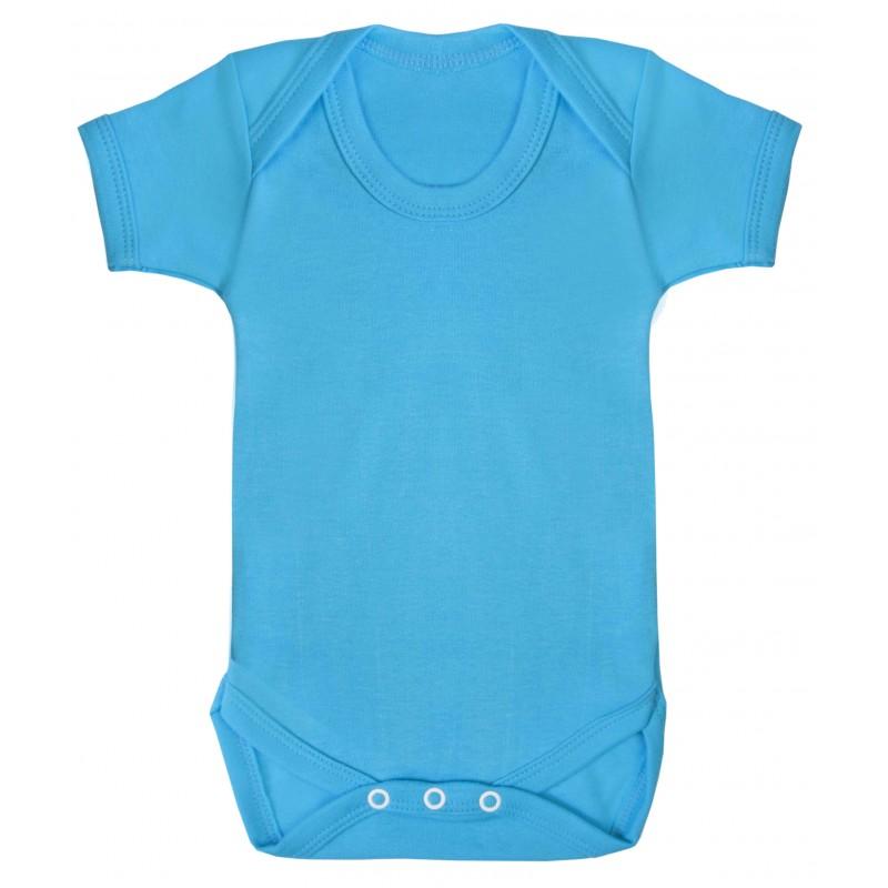 Vauvan body Tagless Turkoosi