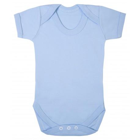 Vauvan body Tagless Vaaleansininen