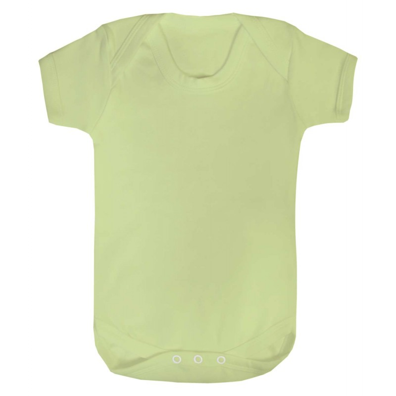 Vauvan body Tagless Vaaleanvihreä