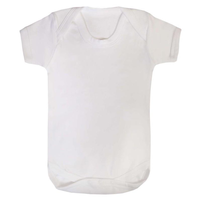 Vauvan body Tagless Valkoinen
