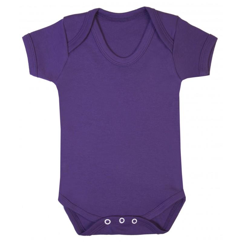 Vauvan body Tagless Violetti