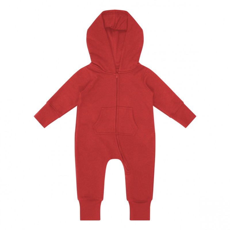 Vauvan All-in-collegeasu Punainen