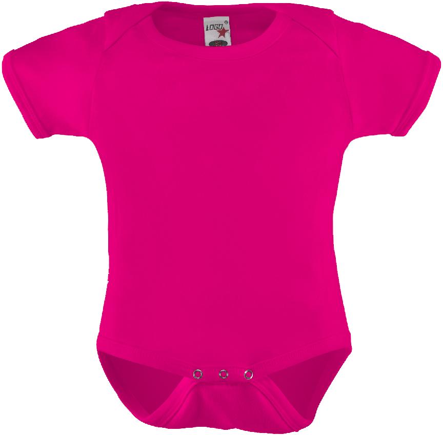 Edullinen vauvan body Logo Girls Pink